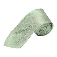 Corbatas, pajaritas y pañuelos de hombre verde sin marca de seda