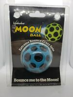 New In Package Waboba Moon Ball Blue Hyperbouncing Ball Free Shipping