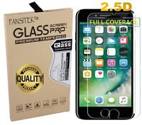 Tempered Glass Screen Protector for iPhone 8 - Clear Transparent Shatterproof
