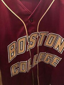 Boston college game worn jersey