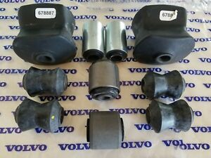 Volvo 142 - 144 - 145 Rear Suspension Bushing kit 1967-1973 (10 Bushings)
