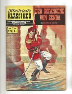 Illustrierte Klassiker #127 1960's German Classics  Illustrated Prisoner Of Zend