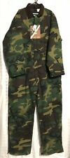 Vintage Usa Deadstock Coveralls Insulated Camo Nwt Size XXL Liberty