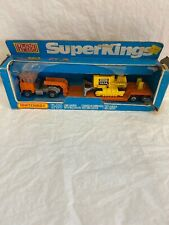 1974 Matchbox Superkings Low Loader With Bulldozer K-23
