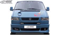 RDX Stoßstange VW T4 bis Facelift für kurze / alte Front Schürze Vorne Spoiler