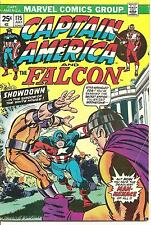 Captain America # 175 July 1974 Marvel The Falcon Steve Englehart X-Men