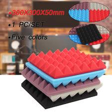 Soundproof Acoustic Studio Panel Foam Board Sound Absorption Sponge 30x30x5cm