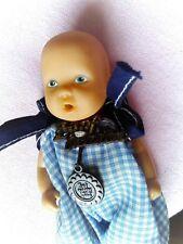 VINTAGE Baby Born Puppe 12 cm - trägt noch Originalkleidung ZAPF CREATION Siegel