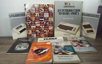 Commodore 64 Vic-20 C64 Manual Lot - Guide Books - Instructions - Literature