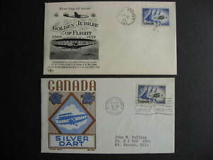Canada Avro Arrow Cachet Craft, Rosecraft FDC First day covers Sc 383