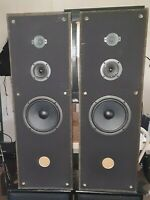 (Matched Pair) VINTAGE Fisher ST-9418 (Black) 3-Way Speaker System*100 W*8 Ohm*