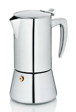 Kela espresso coffeemaker LATINA 6 cups polished stainless steel