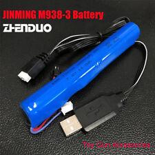 Battery For JinMing V3 M4 Viper Gel Ball Blaster Toy Gun 7.4V 2000mAh