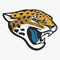 Jacksonville Jaguars #1 NFL Logo Die Cut Vinyl Decal Buy 1 Get 2 FREE