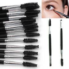 Eyebrow Double Ended Duo Angled Eyeliner Eyeshadow Brow Mascara Brush Makeup
