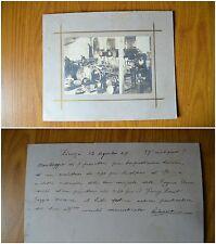 FOTO MONTAGGIO 7 PROIETTORI PER TORPEDINIERE TURCHE FIRENZE 1904 SUBALPINA
