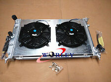 3ROW Ford BA BF Falcon V8 Fairmont XR8 & XR6 Turbo Aluminum Radiator&Shroud&FANS