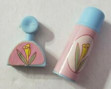 BARBIE DOLL ACCESSORIES PERFUME BOTTLE BATHROOM BEAUTY PRODUCTS THERMOS