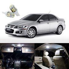 15 x Xenon White LED Interior Light Package Kit Deal For Mazda 6 2003 - 2008