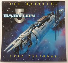 "1997 Babylon 5 Calendar - British - 11½"" x 11"" SEALED!"