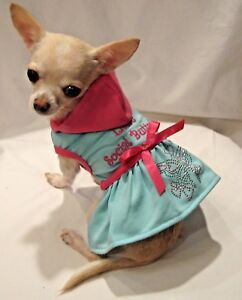 Dog Clothes/Dog Dress/Dog Hoodie/Social Butterfly Dog Dress/ xs, l