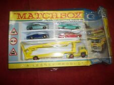 Vintage 1960's NOS Matchbox G-2 Transporter Set in Original Box Lesney