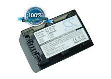 7.4 V BATTERIA PER SONY DCR-DVD108, DCR-DVD653E, DCR-DVD106, dcr-sr300, HDR-UX7E