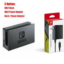 For Nintendo Switch Dock Set AC Power Adapter Black Brand New OEM