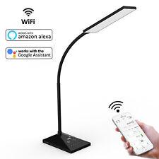 72 LED Smart Desk Lamp WiFi Alexa Voice Control Table Lamp Night Light USB Port