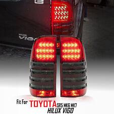 Red Black LED Tail Light Lamp Toyota Hilux Vigo Sr5 Mk6 05-11 Champ Mk7 12-15