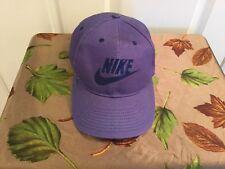 63c79a9f Vtg 90s Nike Purple SnapBack Cap One Size Fits All