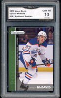2015 Connor McDavid Parkhurst rookie gem mint 10 #PR1