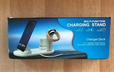 Multi-function Wireless Charger Charging Station Dock Stand For iPhone Android