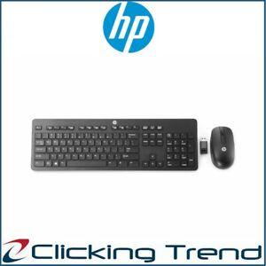 Wireless Keyboard and Mouse Bundles HP Slim Combo T6L04AA Wireless Desktop PC