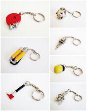 7 Schlüsselanhänger Feuerwehr (7 verschiedene)
