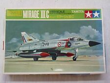 Tamiya pa1005 Dassault Mirage III C 1:100 nuevo & embolsado con rastros de almacenamiento