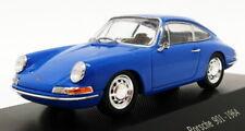 Atlas Editions 1/43 Scale Model Car 7 114 001 - 1964 Porsche 901 - Blue