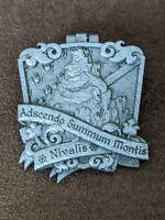 Disney Pin Trading DLR Disneyland Resort Crests Of The Kingdom Matterhorn LE Pin