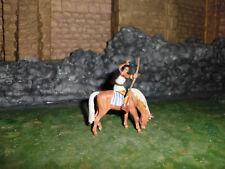 Für Elastolin 7cm Indianerjunge auf Mustang