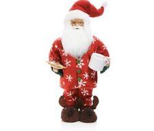 Bloomingdales Exclusive Pajama Santa Claus Figurine Christmas