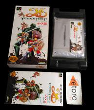 YS III WANDERERS FROM YS Super Famicom Nintendo SNES SFC Japones Complete