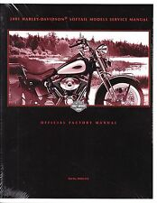 2001 Harley Softail FLS FXC Repair Service Workshop Shop Manual Book 99482-01A