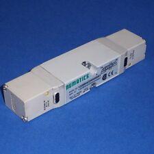 NUMATICS 24VDC 2.5W 150 PSIG-AIR DOUBLE SOLENOID VALVE, 122BB4Z2MN00061