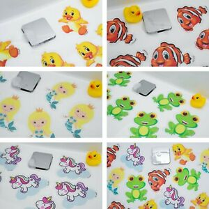 KIDS NON SLIP ANTI SKID SAFETY STICKERS BABY BATH SHOWER MAT FOR CHILD TODDLER