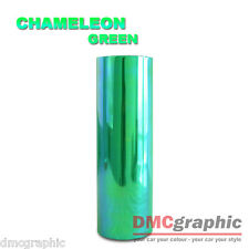 Chameleon Green Car Motorbike Headlight Tail Light Adhesive Vinyl Tint Wrap