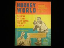 April 1971 Hockey World Magazine - Stanley Cup Issue