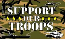 support our troops 5 x 3 flag british army navy royal  air force new design