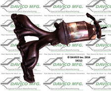 Catalytic Converter-Exact-Fit - Manifold Front Davico Exc CA 19212
