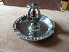 Grinnell Sprinkler Co 'Quartzoid' Fire Sprinkler Figural Adv Ashtray Cigar Tray