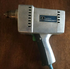 """Custom Penncraft Drill Vintage Ray Gun Corded 1/4"""" Drill 4043 Untested Antique"""